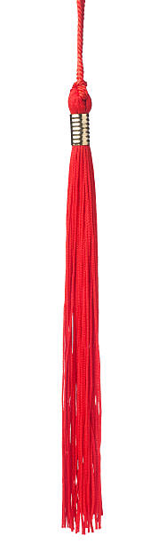 Red tassel red tassel isolated on white background tassel stock pictures, royalty-free photos & images