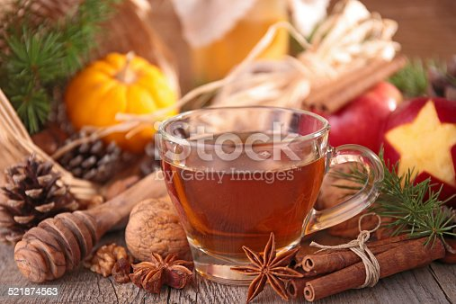 istock red tea and ingredients 521874563