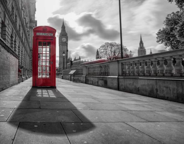 rote Telefonzelle am Big Ben – Foto