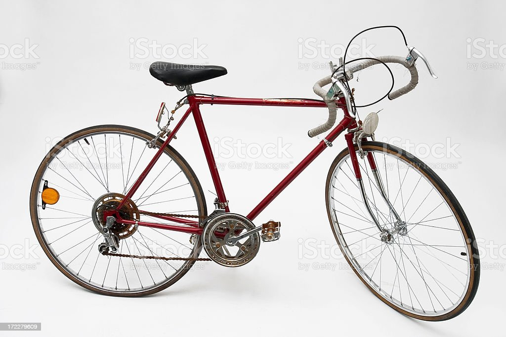 Red Tenspeed Bike Stock Photo - Download Image Now - iStock