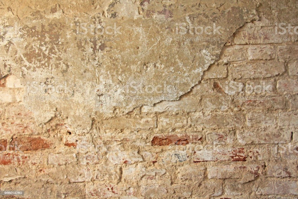 Red Terracotta And White Brick Background Old Wall Of Red Bricks And ...