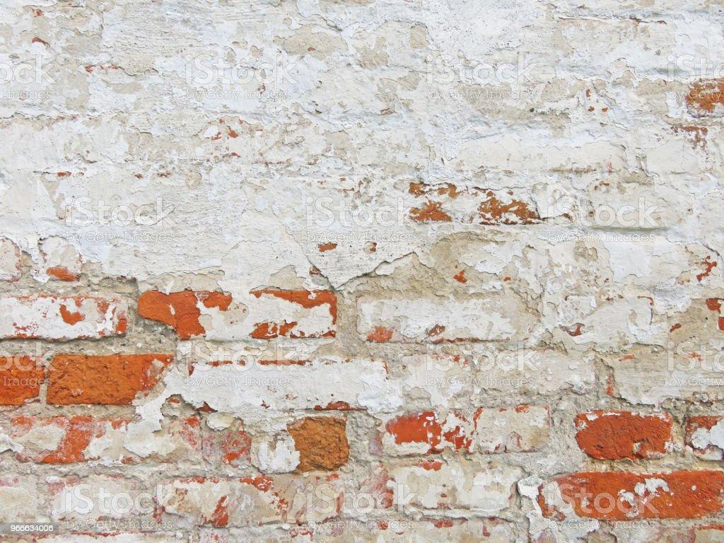 Peindre Un Mur De Brique photo libre de droit de rouge terre cuite et fond de briques