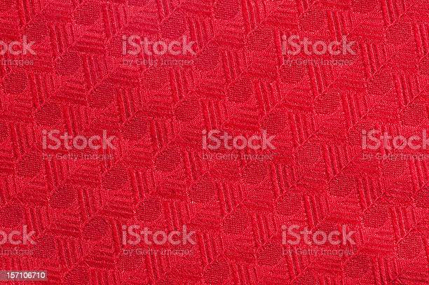 Red Textile Detail