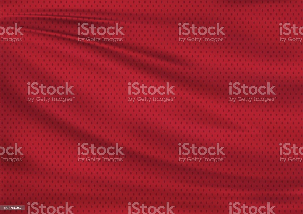 Red textile sport background stock photo