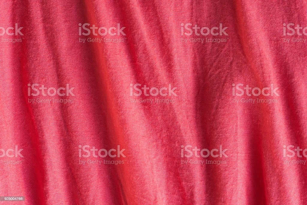 red textile texture background stock photo