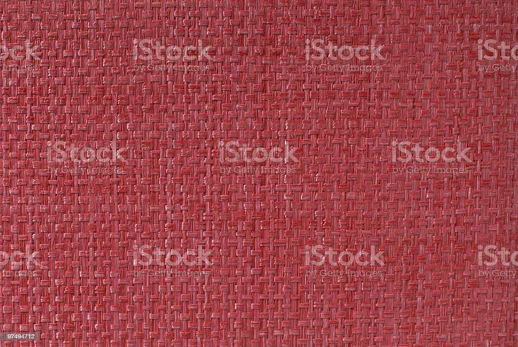 Red Textile Texture royalty-free stock photo
