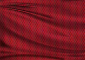 Red texture textile sport background