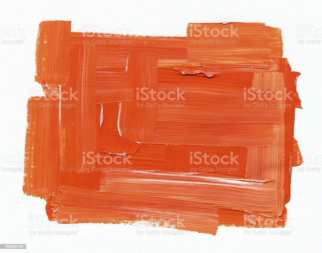 red textured Abstract Paint royalty-free stock photo