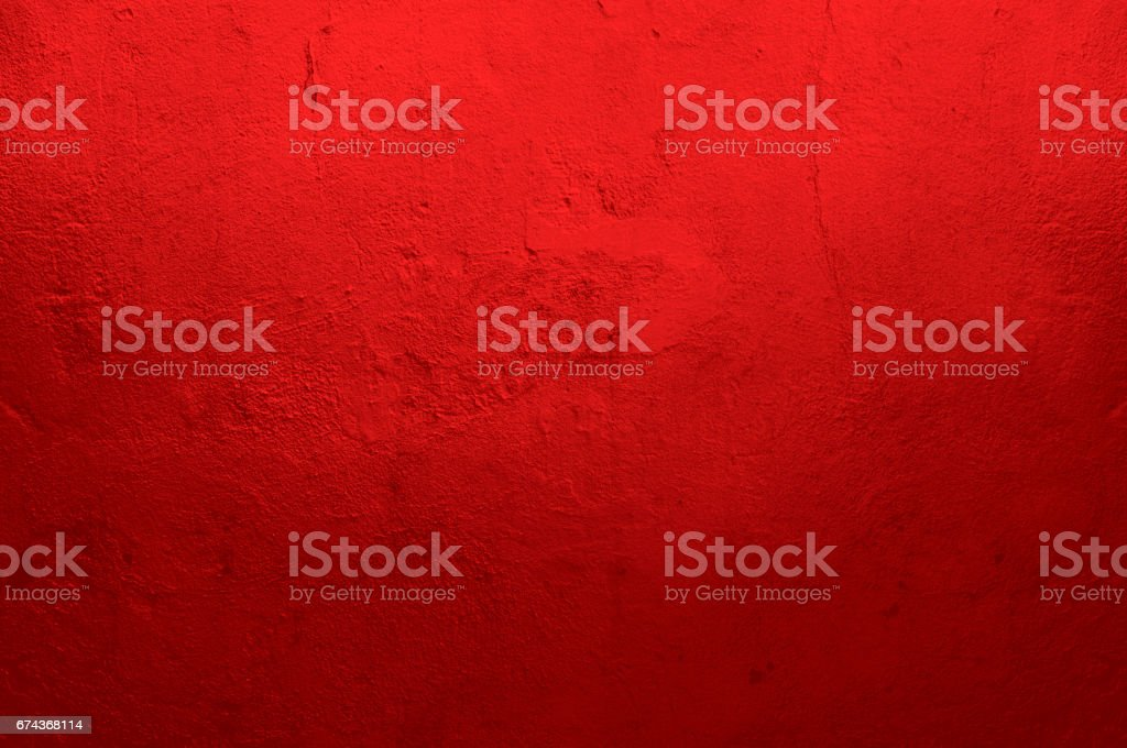 Red Textured Wall stock photo