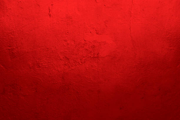 Mur texturé rouge - Photo
