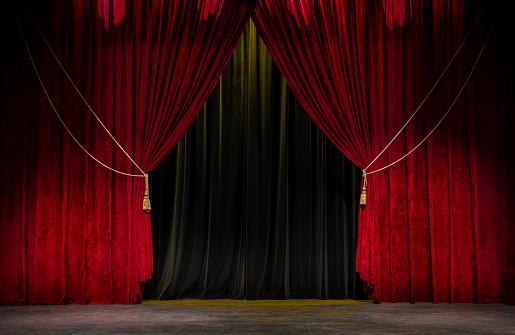 Red Theatre のカーテン - アメリカ合衆国のストックフォトや画像を多数ご用意