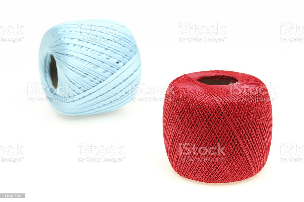 Red thread royalty-free stock photo