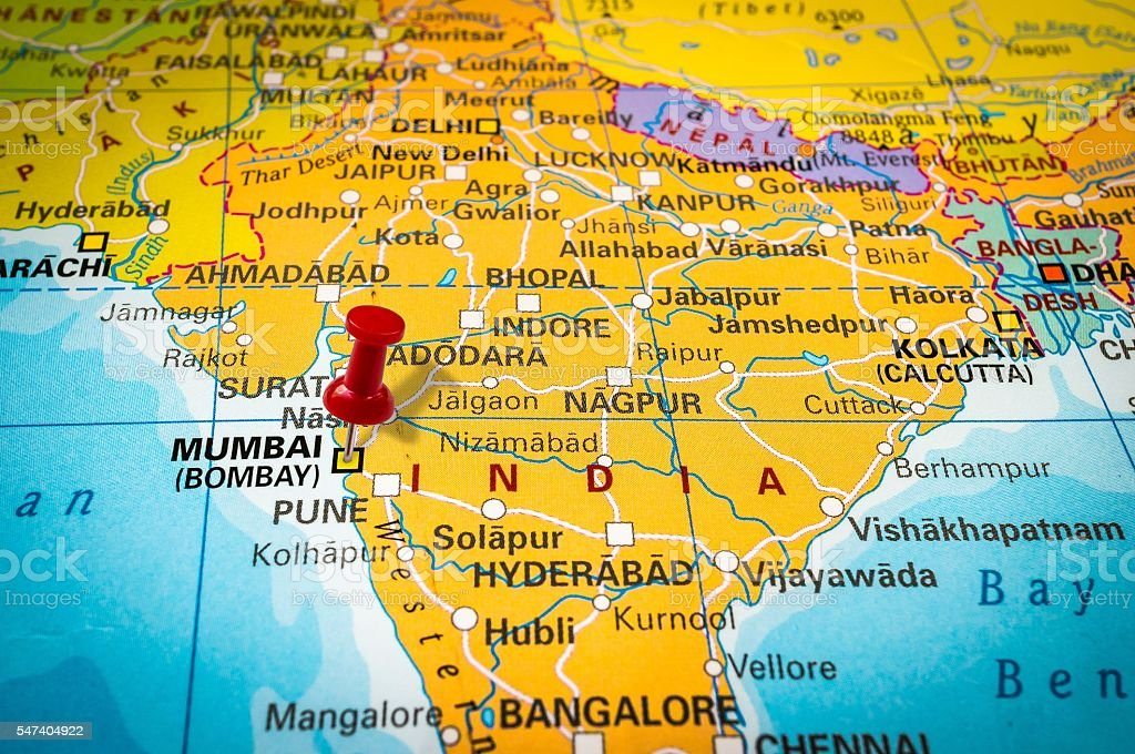 Royalty Free Mumbai Map Pictures Images and Stock Photos iStock
