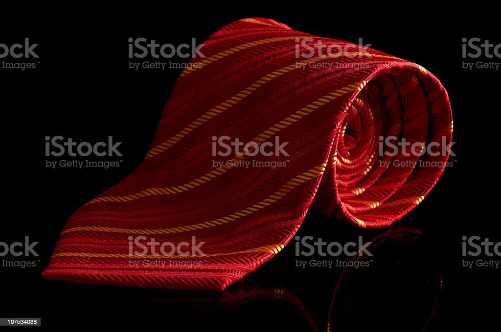 Red tie royalty-free stock photo