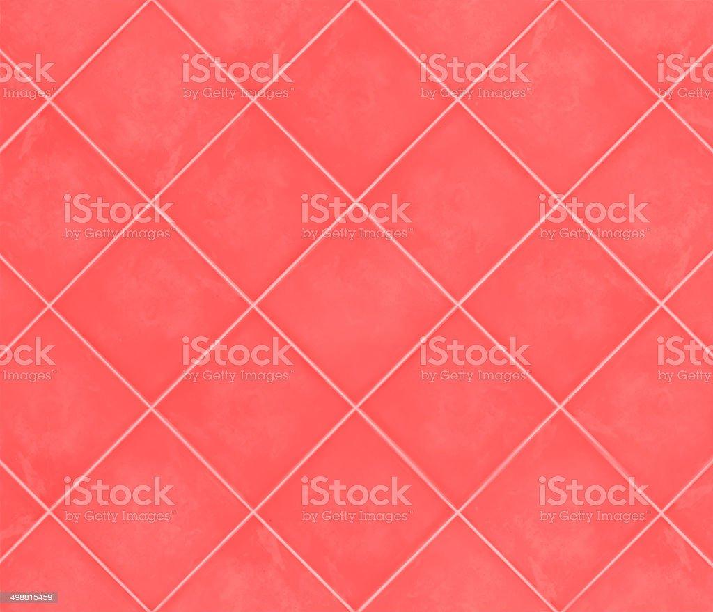 Rote Fliesen Mosaikdekor Glänzendem Material Im Badezimmer ...