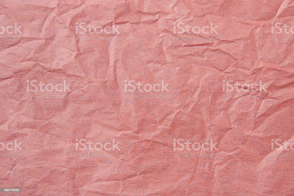 Red Tissue Paper Texture royalty-free stock photo