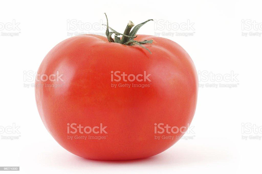 Red Tomato on White royalty-free stock photo