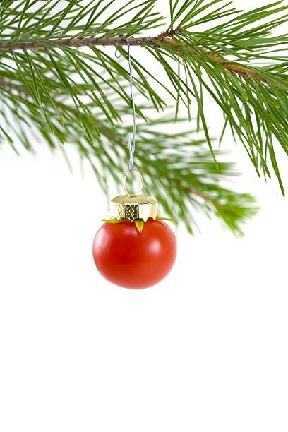 Rote Tomaten-Schmuckteil – Foto