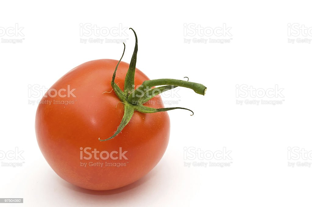 Red tomato. royalty-free stock photo