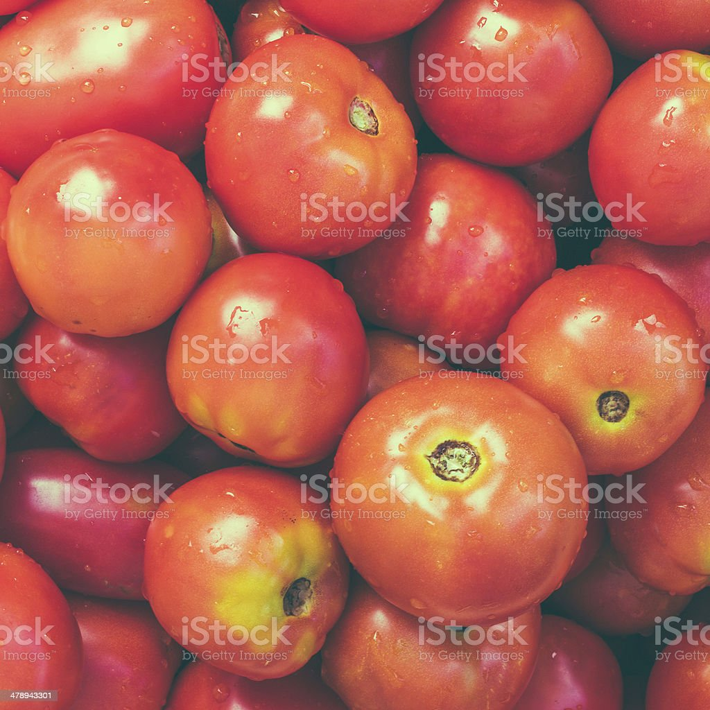 Red Tomatoes Background royalty-free stock photo