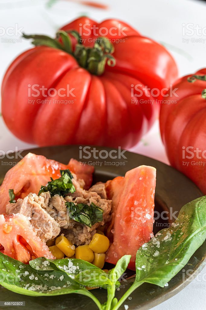 Red tomatoes on white background royalty-free stock photo