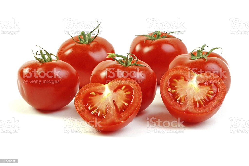 Red tomatoes royalty-free stock photo