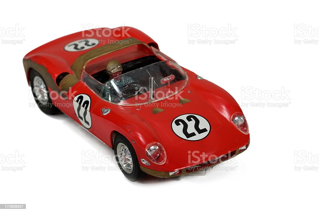 Brinquedo de carro de corrida - foto de acervo