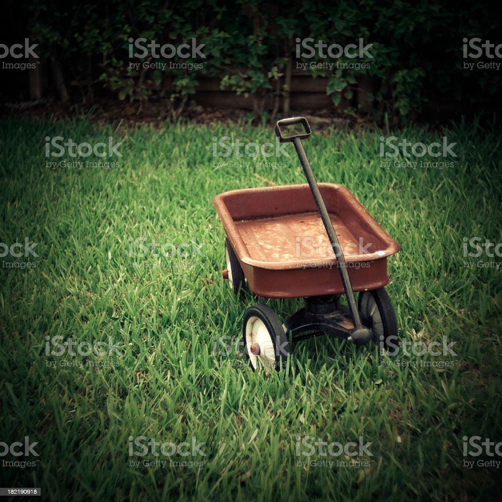 Rot toy wagon – Foto