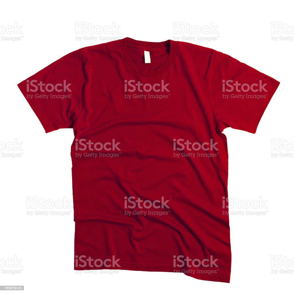 Red T-Shirt royalty-free stock photo