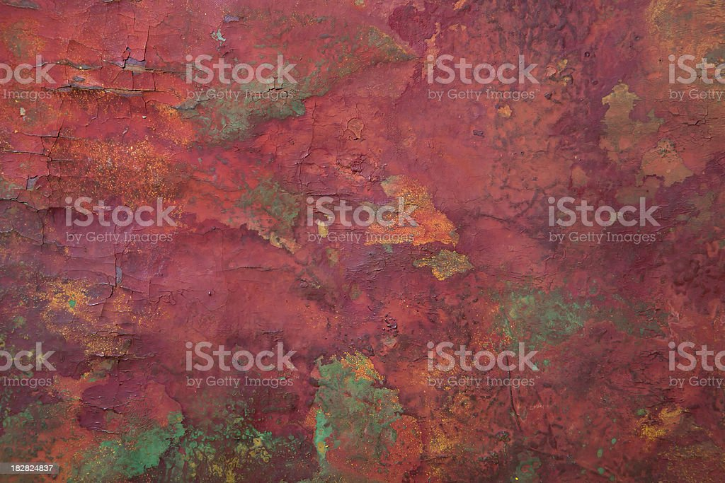 Red Turquoise Background stock photo