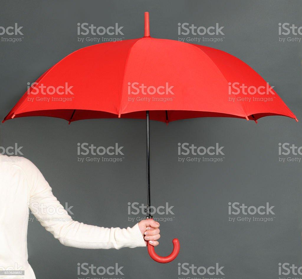 赤色傘 ロイヤリティフリーストックフォト