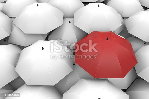 Umbrella, Standing Out From The Crowd, Individuality, Inspiration