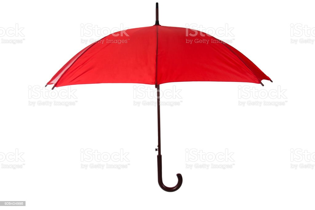 Manufactured Object Nylon Umbrella Cut Out Handle