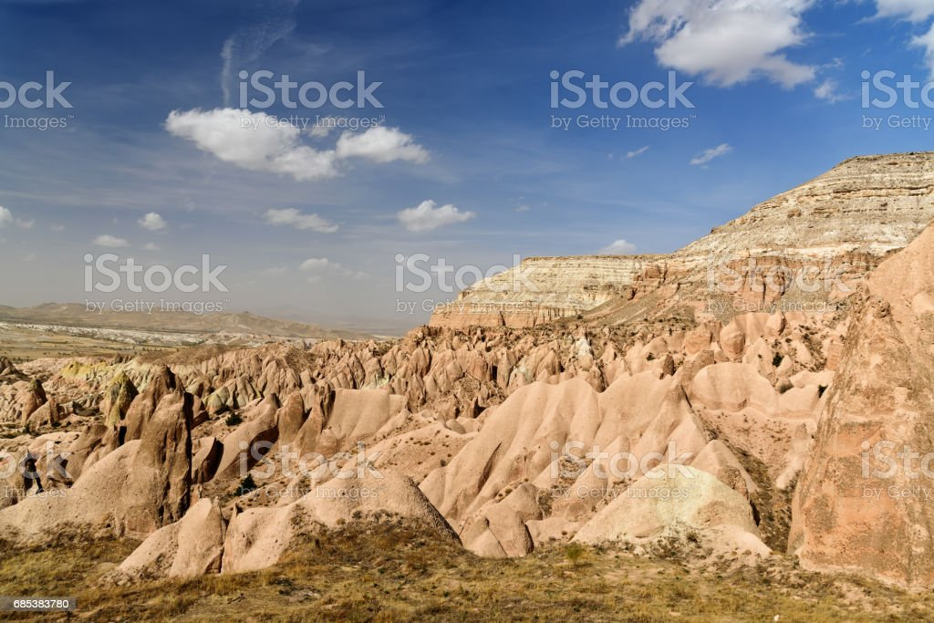 Red valley. Cappadocia. Turkey foto de stock royalty-free