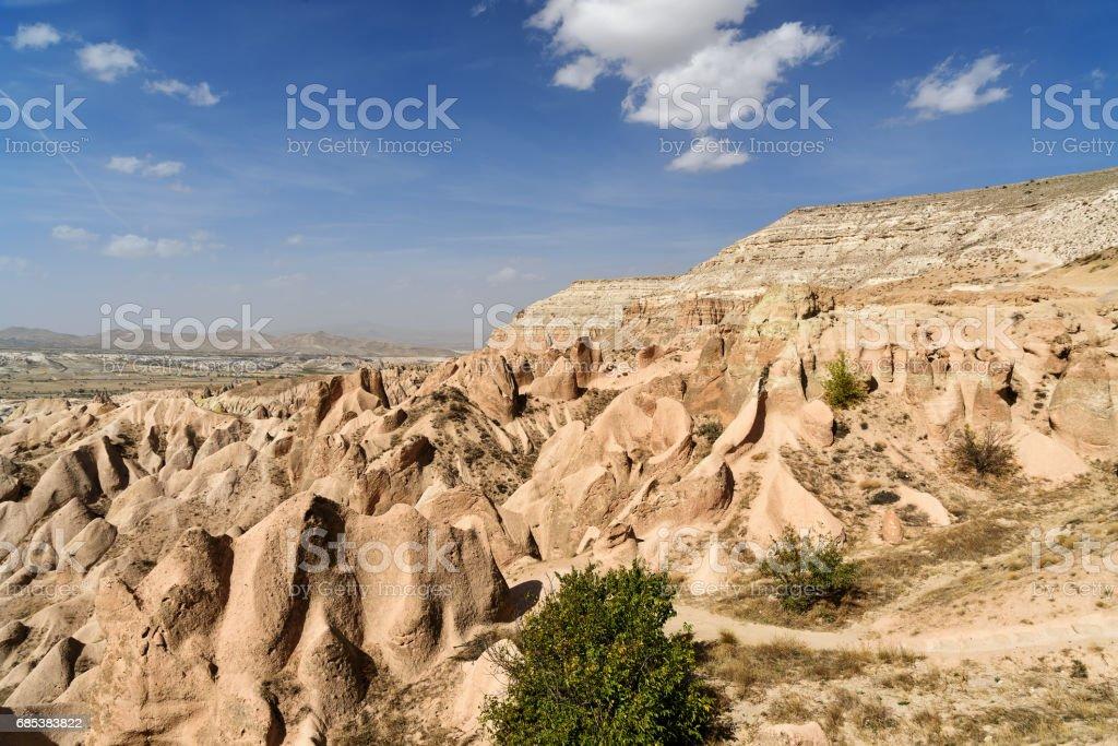 Red valley. Cappadocia. Turkey foto de stock royalty-free