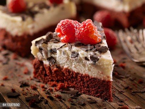 Red Velvet Cheesecake with Fresh Fruit