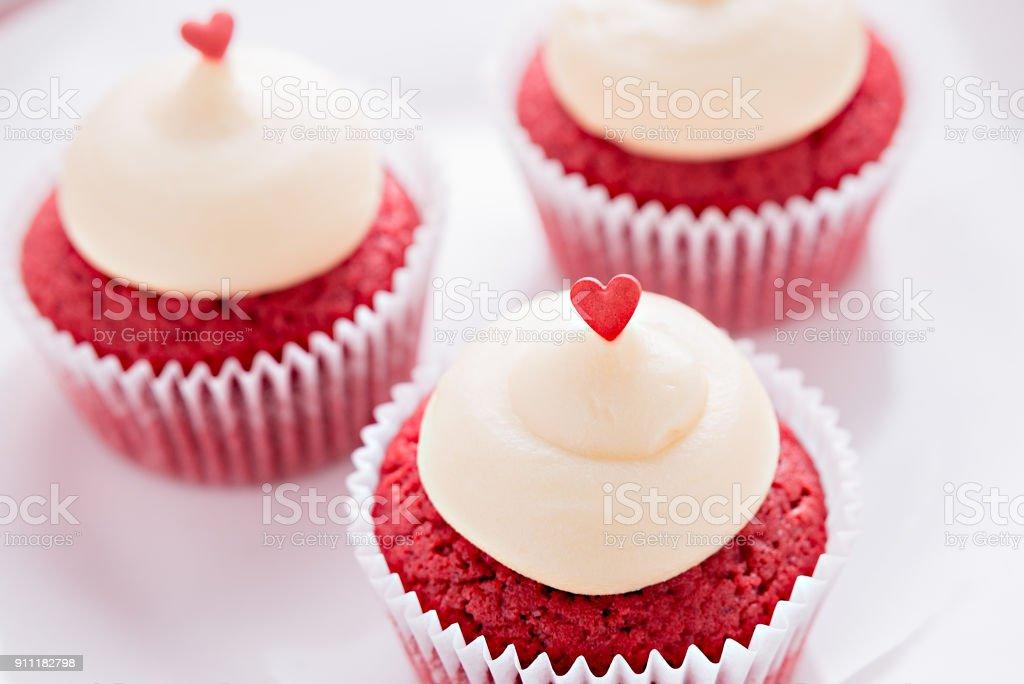 Red Velvet cupcakes – Foto