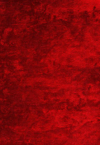 Red Velvet Fabric stock photo