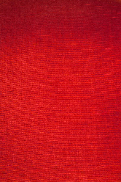 red velvet texture stock photo