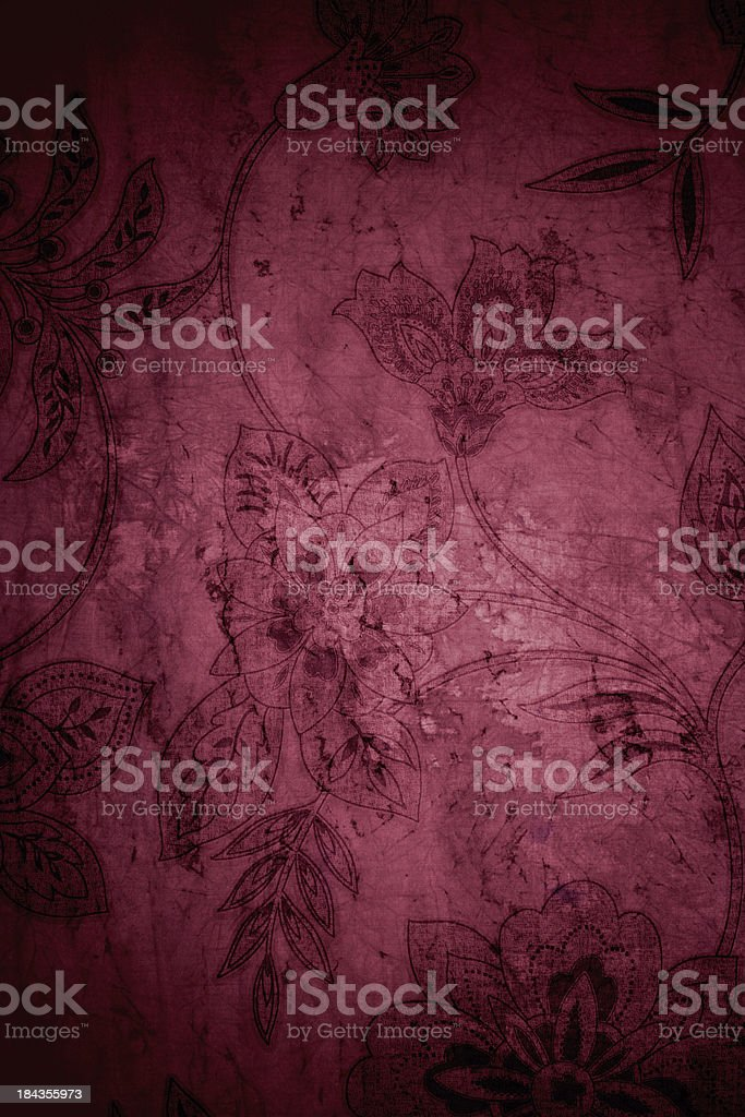 Red Victorian Background royalty-free stock photo