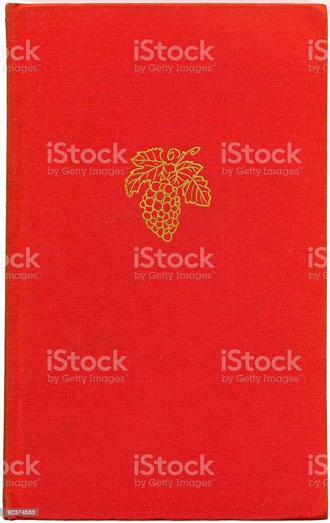 Red Vintage Book royalty-free stock photo