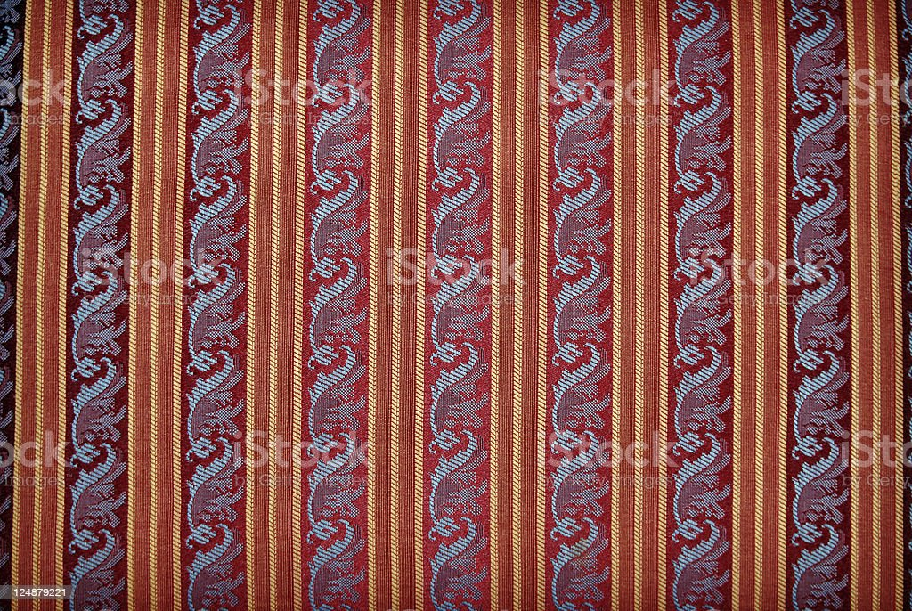 Red vintage wallpaper background texture royalty-free stock photo