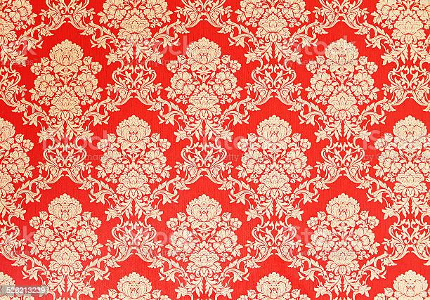 Red vintage wallpaper with golden baroque ornaments picture id526213239?b=1&k=6&m=526213239&s=612x612&h=tcnbhnltgcnd49b9hwdfnwuiwhrjxnf0wd4rnms0neq=