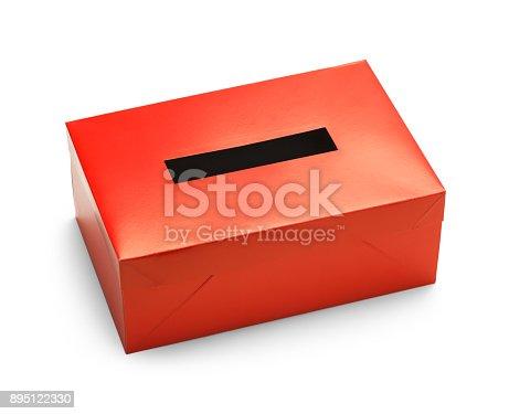 1001757106 istock photo Red Vote Box 895122330