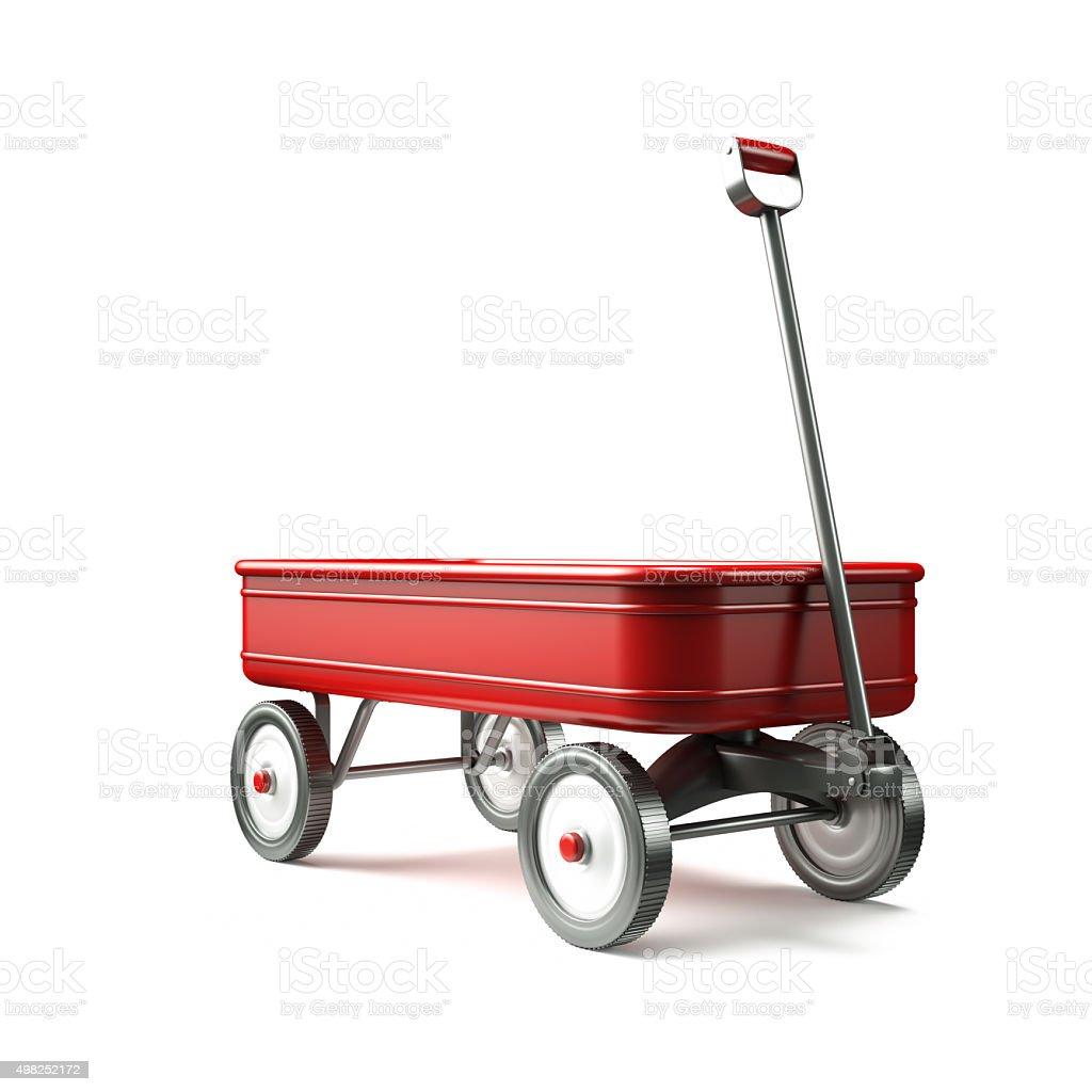 red wagon 3/4 anzeigen – Foto
