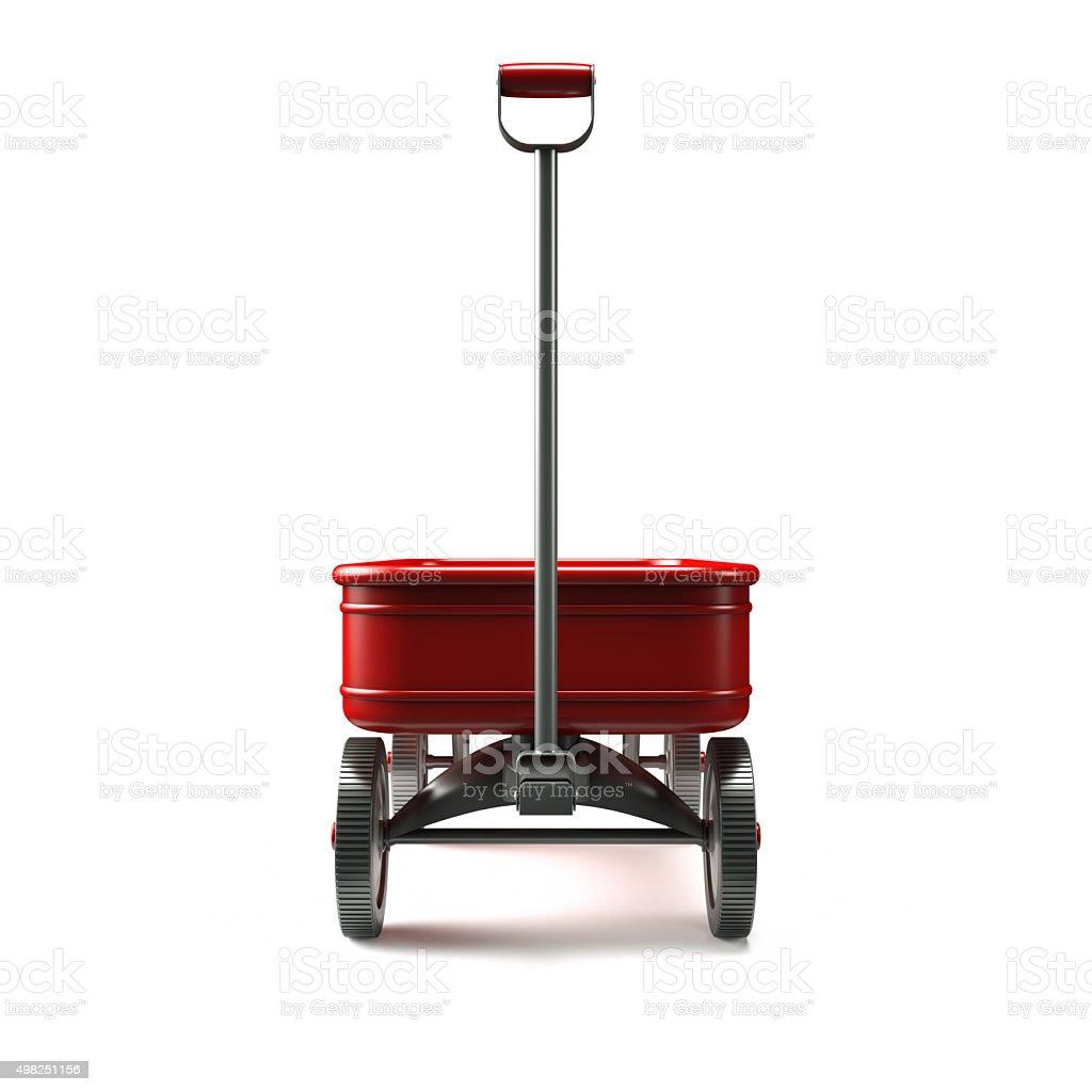 red wagon Vorderseite – Foto