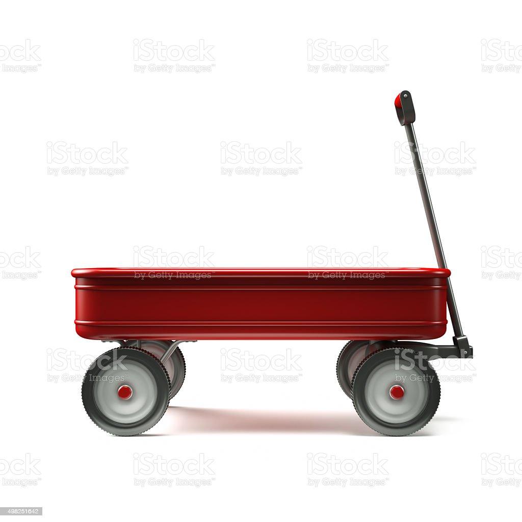 red wagon Seite anzeigen – Foto