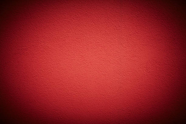 Red wall background stock photo