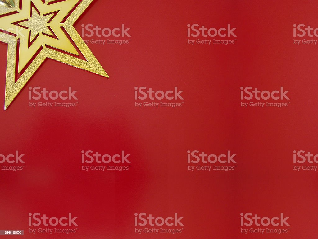Red wallpaper with star royalty-free stock photo