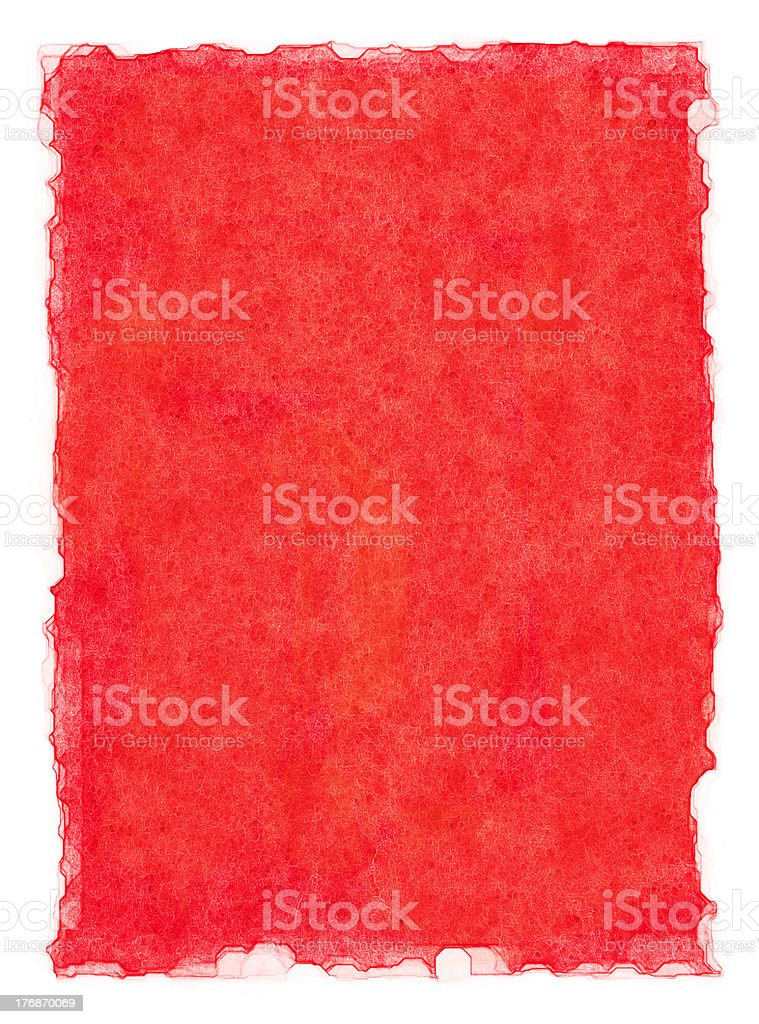 Red Watercolor Background royalty-free stock photo